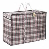 Клетчатая сумка-баул Любаша 168 л 604704