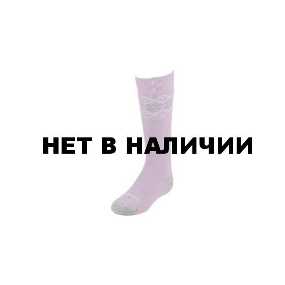 Термоноски детские Lorpen S2KN Merino Blend Kids Ski (2 пары) (серый, розовый)
