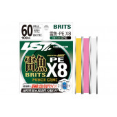 Шнур плетеный Linesystem Raigyo Britz PE X8 80LB 80м pink