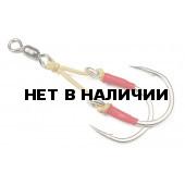 Крючок ассист Higashi Twin Assist Hook HB-008 №7/0