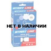 Мячи Start Line Training 3* (6 шт, белые) 23023