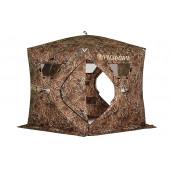 Зимняя палатка пятигранная Higashi Camo Penta Pro трехслойная