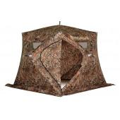 Зимняя палатка куб Higashi Camo Pyramid Pro DC трехслойная
