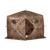 Зимняя палатка шестигранная Higashi Camo Sota Pro трехслойная