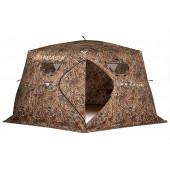 Зимняя палатка шестигранная Higashi Camo Yurta Pro трехслойная