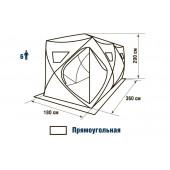 Зимняя палатка куб Higashi Double Camo Comfort