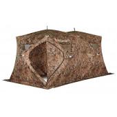 Зимняя палатка куб Higashi Double Camo Pyramid Pro трехслойная