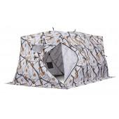 Зимняя палатка куб Higashi Double Winter Camo Pyramid