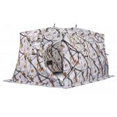 Зимняя палатка куб Higashi Double Winter Camo Pyramid Hot трехслойная