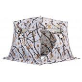 Зимняя палатка куб Higashi Winter Camo Pyramid Pro Z трехслойная