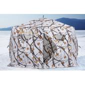 Зимняя палатка шестигранная Higashi Winter Camo Sota Pro трехслойная