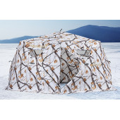 Зимняя палатка шестигранная Higashi Winter Camo Yurta Pro трехслойная
