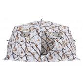 Зимняя палатка шестигранная Higashi Winter Camo Yurta Pro Z трехслойная