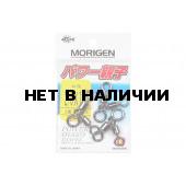 Вертлюжный блок Morigen E-217, р. 2/0х1/0, цвет BN, до 193,4 кг 3 шт