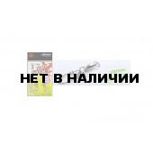 Карабин с вертлюгом Xesta BB Hard Lock Snap+Ring, р. 2, цвет S, до 27,2 кг 2 шт