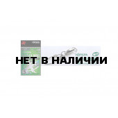 Карабин с вертлюгом Xesta WBB Hard Lock Snap+Ring, р. 1, цвет S, до 22,6 кг 2 шт