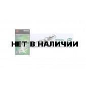 Карабин с вертлюгом Xesta WBB Hard Lock Snap+Ring, р. 4, цвет S, до 68 кг 2 шт
