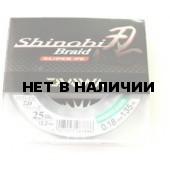 Рыболовная леска плетеная DAIWA Shinobi Braid SNGB25LB 135м 0,18 (зеленая)