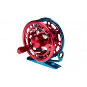 Катушка инерционная Higashi H-60 Blue/Red