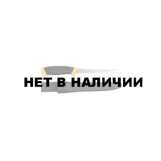 Нож филейный Mora 856T (лезвие 14,8см. пластик, чехол) (114-4340)