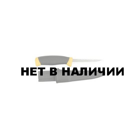 Нож филейный Mora 898T (лезвие 9,8см. пластик, чехол) (114-4350)