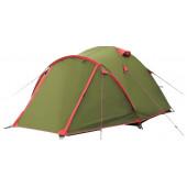 Палатка Tramp Lite Camp 2 зеленая