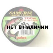 Рыболовная леска DAIWA Samurai 200T 200м. 0,18 (серая)