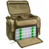 Сумка рыболовная + 7 коробок Aquatic СК-14