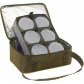 Термо сумка для насадок + 6 банок Aquatic С-42Х