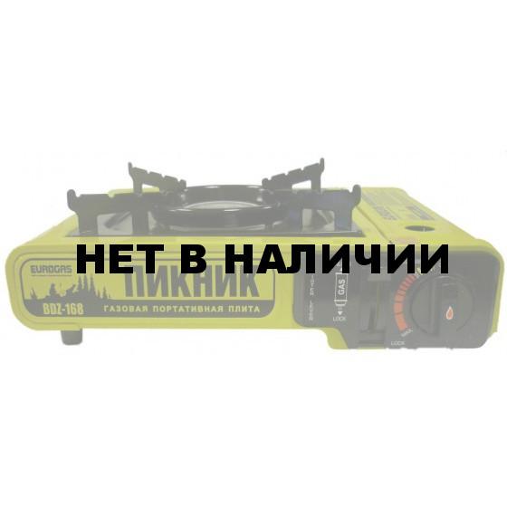 Газовая плитка Еврогаз ПИКНИК BDZ 168