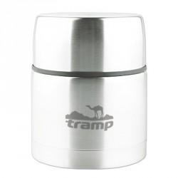Термос с широким горлом 0,5 л. Tramp TRC-077 ( серый)