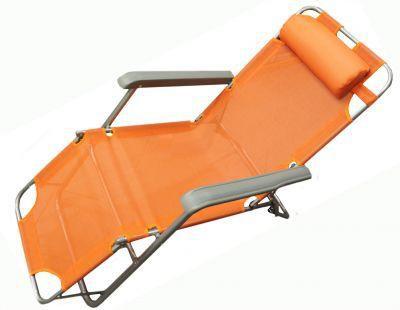 Кресло - шезлонг Woodland Lounger Textilene оранж. CК-056А 0036509
