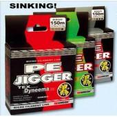 Рыболовная леска плетеная PE Jigger 100м 0,14 (зеленая)