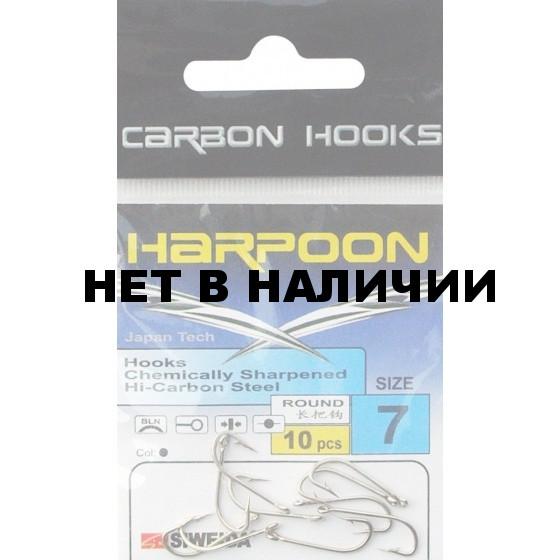Крючок SWD Harpoon Round №7S (10шт.) 3222307