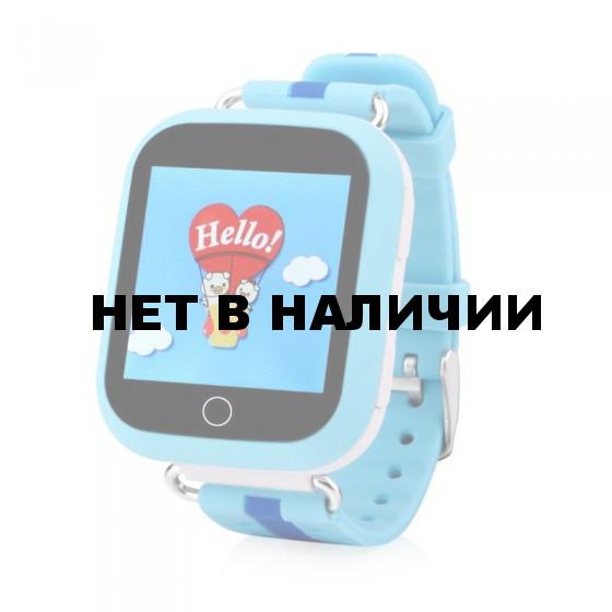 Детские часы Wolnex smart baby watch GW200S голубые