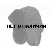 Шапка-ушанка Чайка «Егерь» черный