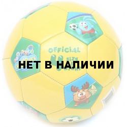 Мяч футбольный Смешарики №4 SMSO 102
