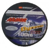 Леска плетеная Siweida Armor 0,14 100м (7.3 кг, серая)