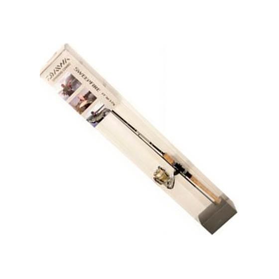 Комплект DAIWA Спиннинг Sweepfire 602MFS + катушка Sweepfire 2000-2B в пластиковом тубусе 200679
