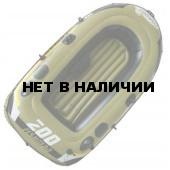 Лодка надувная Fishman 200 SET (весла+насос) JL007207-1N