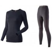 Комплект женского термобелья Guahoo: рубашка + лосины (21-0461 S-BK / 21-0461 P/BK)