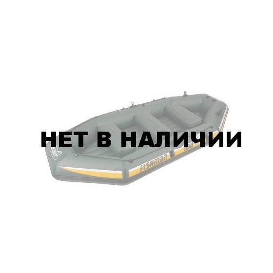 Лодка надувная Fishman II 400 BOAT (весла+помпа+сумка) JL007211N