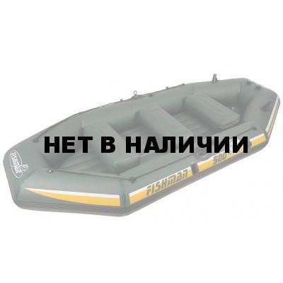Лодка надувная Jilong Fishman II 400 BOAT (весла+помпа+сумка) JL007211N