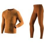 Комплект мужского термобелья Guahoo: рубашка + кальсоны (22-0600 S/BR / 22-0600 PF/BR)