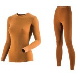 Комплект женского термобелья Guahoo: рубашка + лосины (22-0601 S/BR / 22-0601 P/BR)