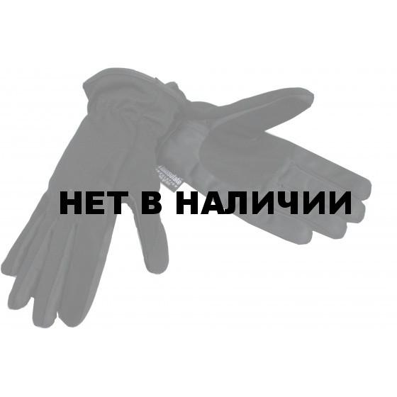 Перчатки нейлон/ПВХ женские 2220А (черный)