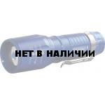 Фонарь ручной СИБИРСКИЙ СЛЕДОПЫТ Вега, с зажимом, 1L, zoom/120 (PF-PFL-L53)