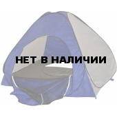 Палатка рыбака Скаут автомат 2х2 сине-белая (дно на молнии)