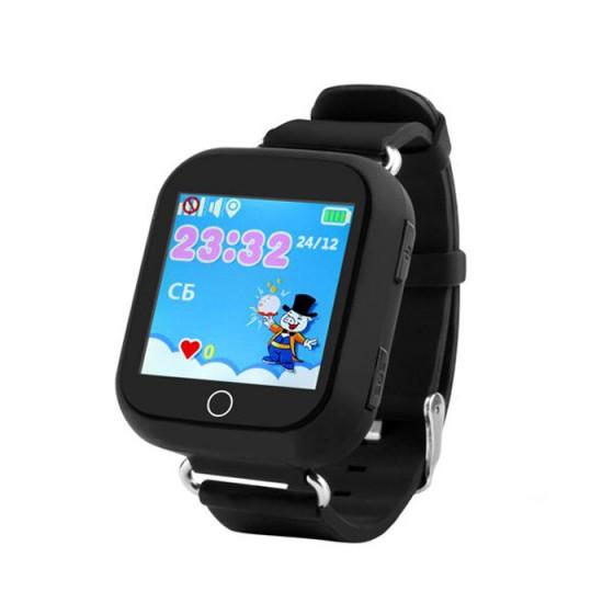 Детские часы Wolnex smart baby watch GW200S черные
