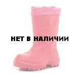 Сапоги зимние детские WOODLINE ЭВА, розовые 490НУ